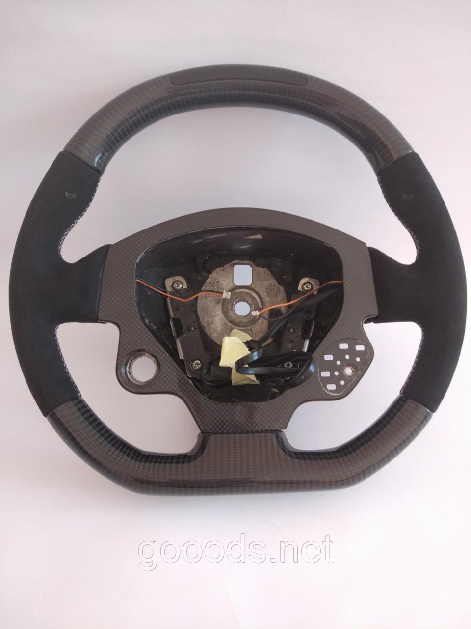 Карбоновый руль на Ferrari California / F430