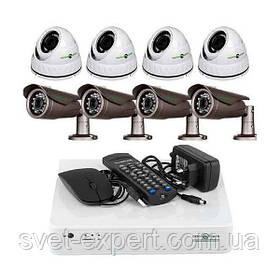 Комплект відеоспостереження Green Vision GV-K-L08 / 04 1080P