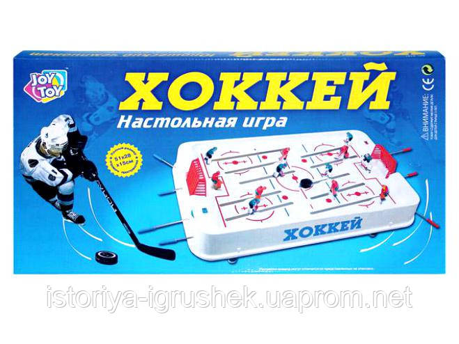 Настольная игра Хоккей JT 0701 на штангах, в коробке