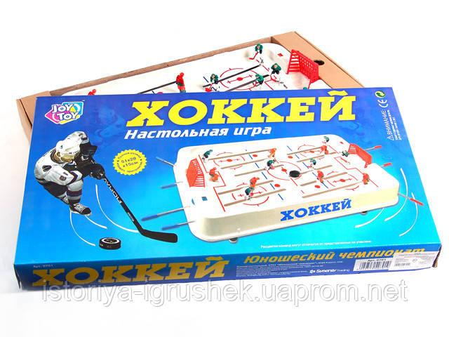 Настольная игра Хоккей JT 0701 на штангах, в коробке 3
