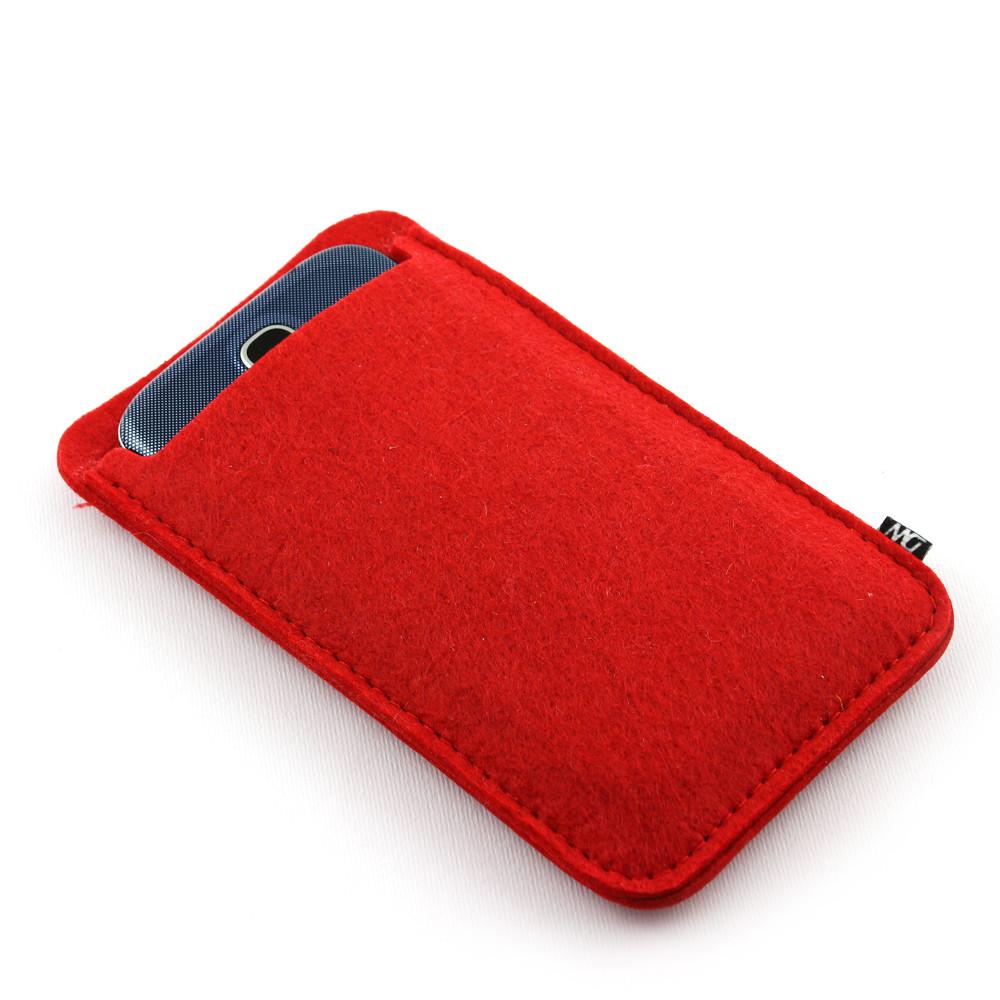 Чехол для телефона Digital Wool (Color) красный