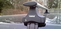 Багажник Toyota Camry V50, перемычки на крышу