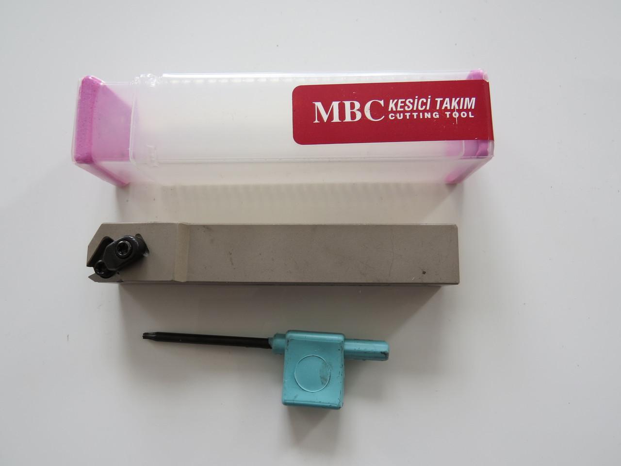Резец резьбовой для наружной резьбы с механическим креплением SER 20х20х125 K16 MBC