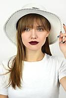 Шляпа канотье Бонайре молочная