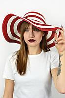 Широкополая шляпа Корсика красная