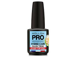 HYBRID CARE TOP COAT UV/LEDMOLLON PRO 12 МЛ