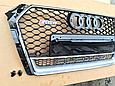 Решетка радиатора RS4 для Audi A4 2014-, фото 4