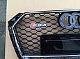 Решетка радиатора RS4 для Audi A4 2014-, фото 5