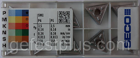 TNMG160408 Твердосплавная пластина для токарного резца , фото 2