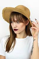 Шляпа федора Тайвань капучиновая