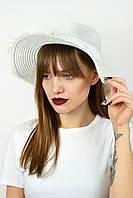 Шляпа федора Тайвань белая