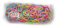 Двусторонние разноцветные резинки для плетения Rainbow loom
