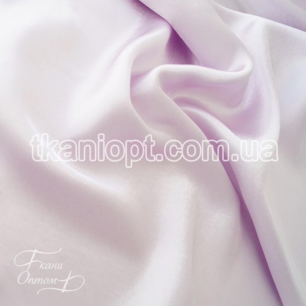 Ткань Креп сатин (светло-сиреневый)