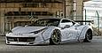 Карбоновый обвес  Liberty Walk на Ferrari 458 Italia, фото 8