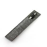 Чехол для карандашей/циркуля Digital Wool 2 (Classic) сер.в.