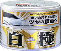 Полироль Soft99 00191 Extreme Gloss Wax 'Kiwami' White — для придания экстрим блеска белым