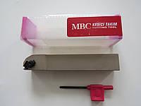 Резец резьбовой для наружной резьбы с механическим креплением SER 25х25х150 M16 MBC