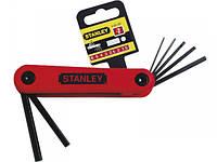 Наборы из 7-ми торцевых шестигранных складных ключей 1,5-6 мм STANLEY