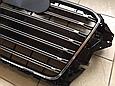 Решетка радиатора Audi A3 в стиле S3 чёрная, фото 4