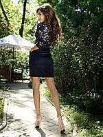 Красивое женское платье трикотаж
