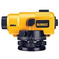 Нивелир 26-кратный, точность 2мм, DeWALT DW096PK.
