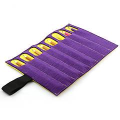 Чехол для карандашей Digital Wool 8 (Color) фиолетово-желтый