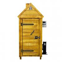 """Коптильня холодного копчения с деревянным шкафом ТМ """"ДК"""""""