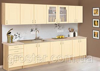 Кухня Карина (МДФ) 2.0 м со столешницей. Мебель для кухни.