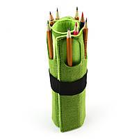 Чехол для карандашей Digital Wool 8 (Color) зелено-салатовый