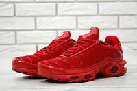 Мужские кроссовки Nike Air Max TN (красные), ТОП-реплика, фото 1