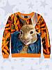 Світшот 3D Кролик Петрик Морквяний рай