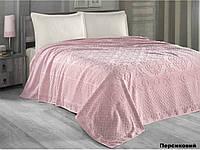 Комплект махровый 160х220 Arya - Estafan персиковый