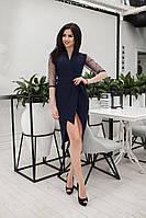 Женское асимметричное платье крепкостюмка