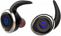 Наушники AWEI T1 Twins Earphones Black-Gold (Bluetooth)