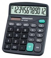 Калькулятор ASSISTAN AC-2328 двойное питание (195x152x23мм)