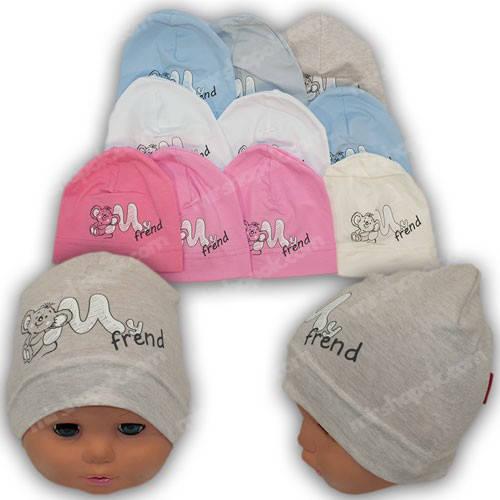 Детские новорожденные шапочки, р. 36-38