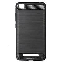 ★Накладка Xiaomi Redmi 4A Black бампер для смартфона защитный против царапин и потёртостей