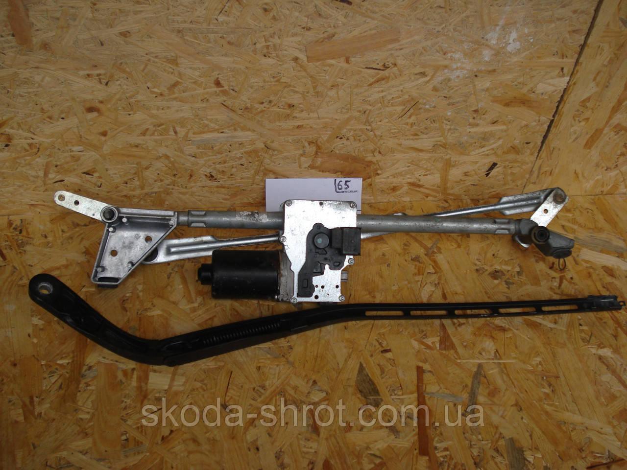 96525068 Механизм стеклоочитителя, трапеция с мотором Peugeot 307 (2004-2008) 5465B