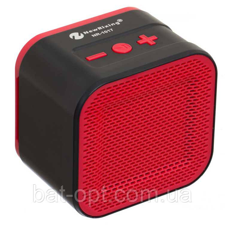 Радиоприемник колонка с Bluetooth NR-1017 красная