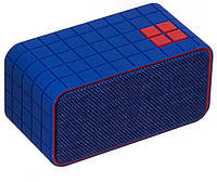 Радиоприемник колонка с Bluetooth TS-275 синяя