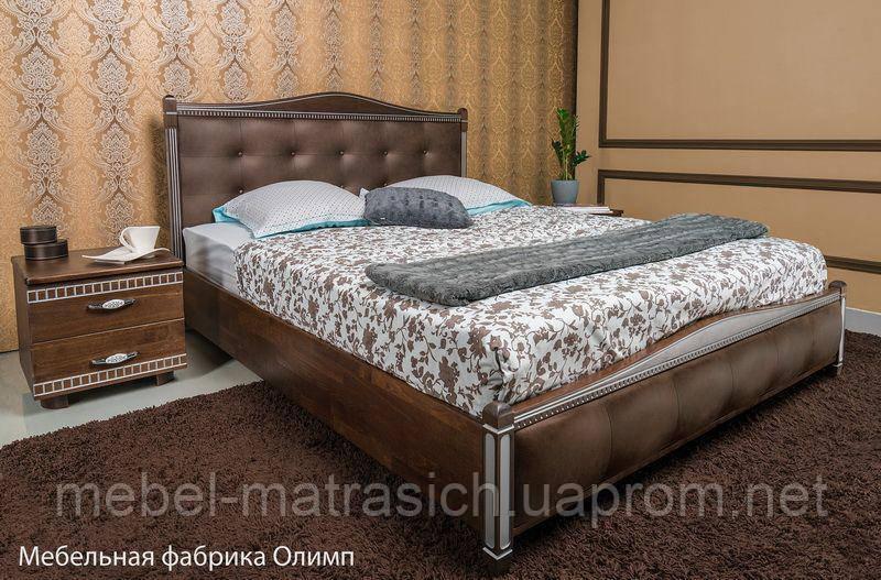 """Кровать """"Provans"""" прошивка ромбы"""