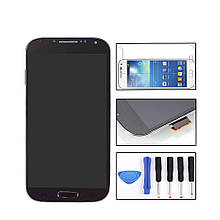 Дисплей сенсор тачскрин LCD екран модуль Samsung Galaxy S4 i9500 + подарки!