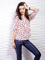 Блуза рубашка  легкая модная женская (42-48), доставка по Украине