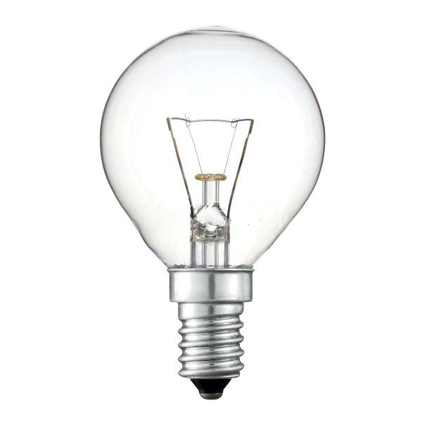 Лампа ЛОН P 220-40-1 Cl  E14