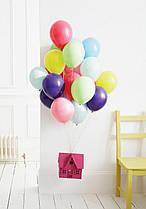 """Гелиевые шары 10"""" (26 см) ассорти. Классик ( полет  1 сутки )"""