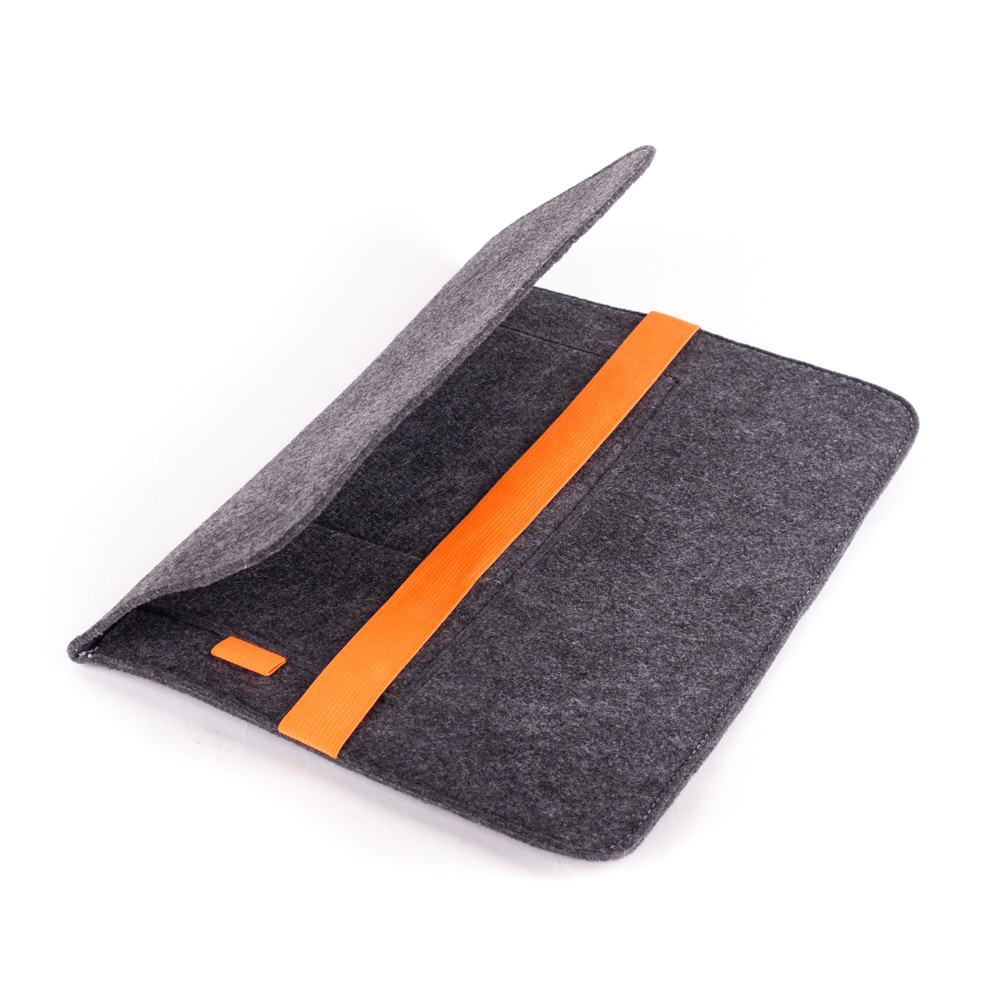 Чехол для ноутбука Digital Wool Case 13 с оранжевой резинкой