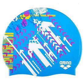 Детская шапочка для плавания Arena Print 94171-19