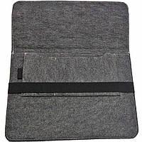 Чехол для ноутбука Digital Wool Case 13 с черной резинкой