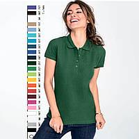 Рубашка поло женская SOL'S PASSION Франция 21 цвет 100% гребной ПИКЕ хлопок плотные 170 г/м2