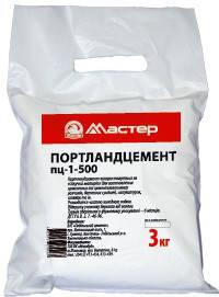 Цемент МАСТЕР 3 кг